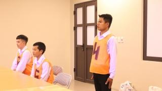 Thực tập sinh Công ty Xuất khẩu Lao động IPM Việt Nam tham gia thi tuyển đơn hàng cốt thép